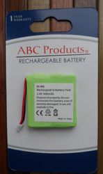батарея к радиотелефону 2, 4 v 600 mAh